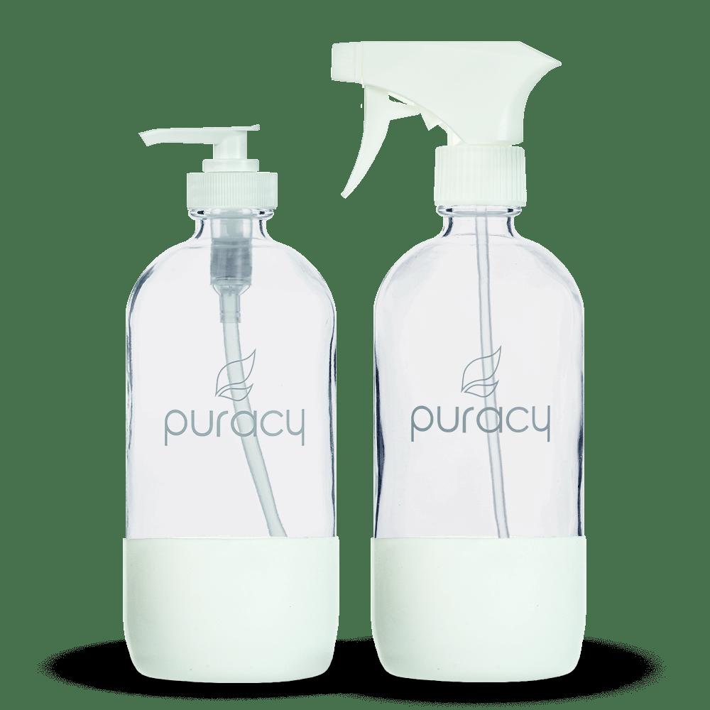 Puracy Reusable Glass Bottles