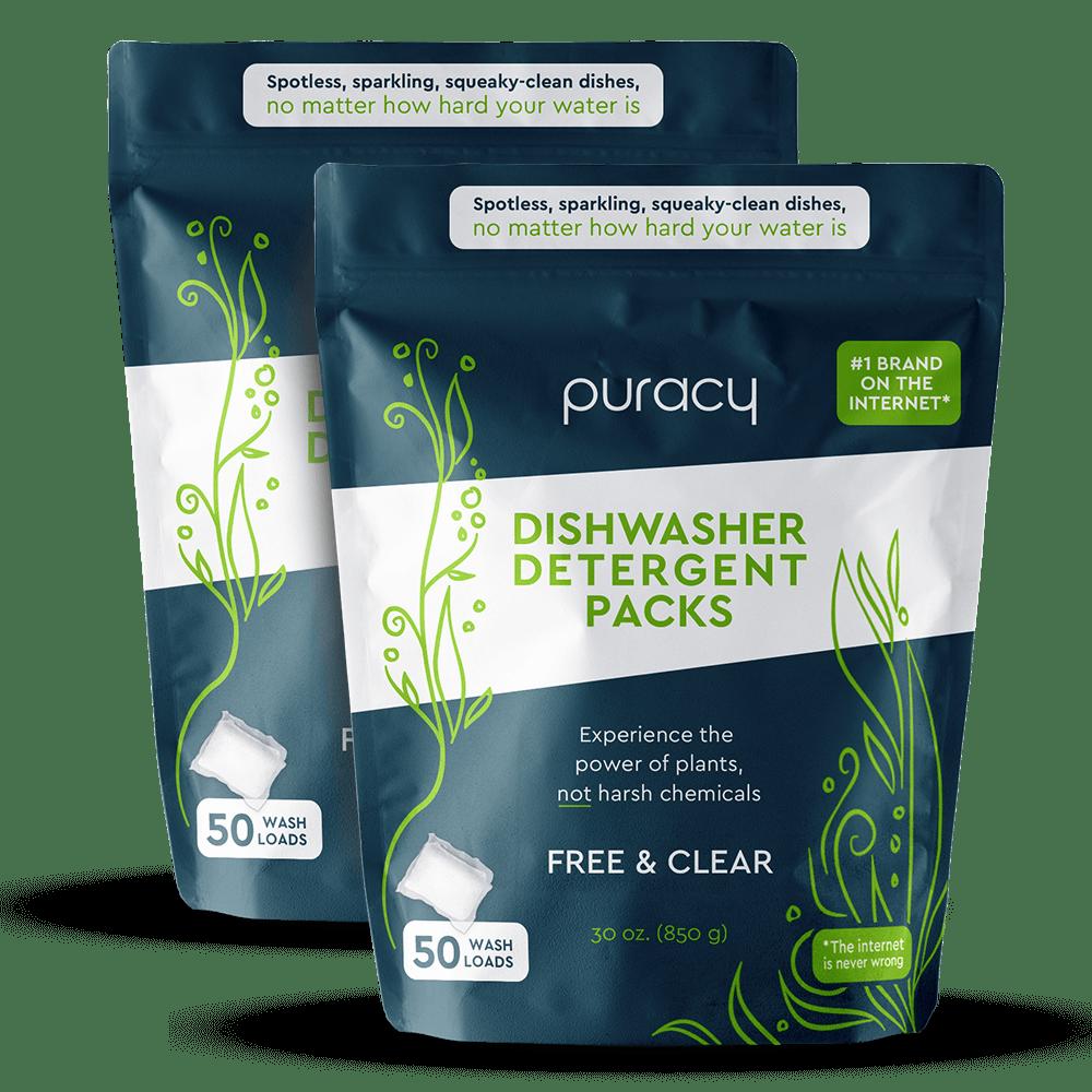 Puracy Natural Dishwasher Detergent Packs